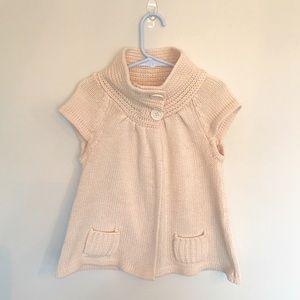 Little Girls Cream Sweater